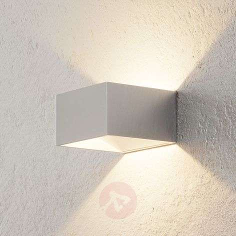 Applique a LED Cube color cromo