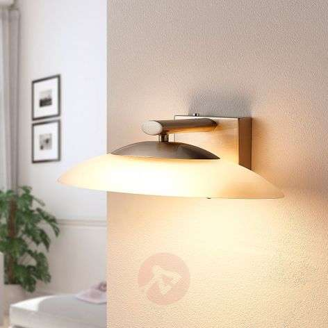 Applique a LED ovale Judie con dimmer