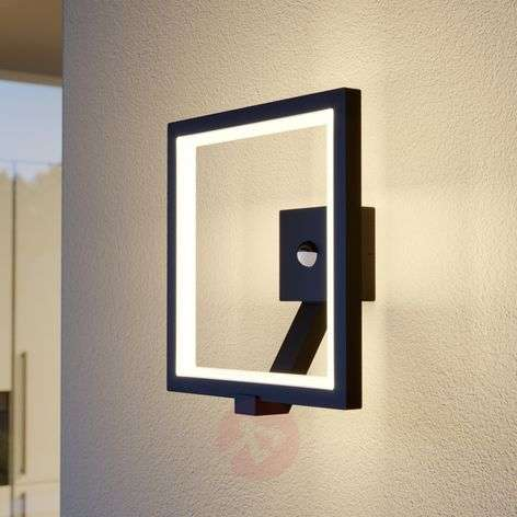Applique da esterni LED Square grafite con sensore