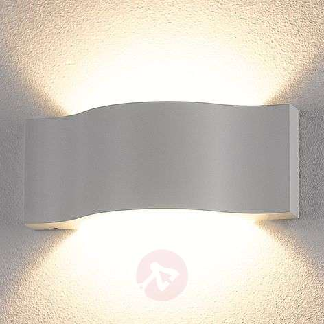 Acquista Applique Da Parete Jace Bianca Decorativa A Led Lampade It