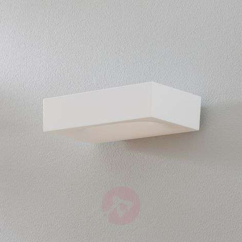 Applique LED di design Melete, bianca, 2.700 K