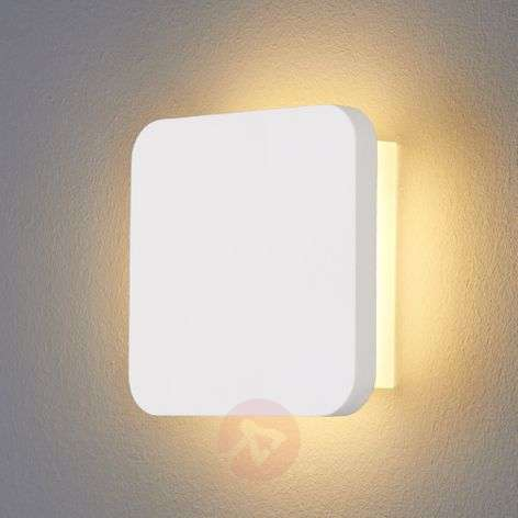 Applique parete Gypsum, moderna, in gesso con LED