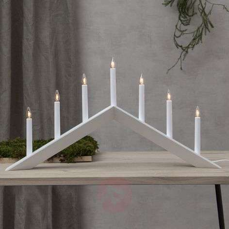 Candelabro Arrow, piatto, 7 luci