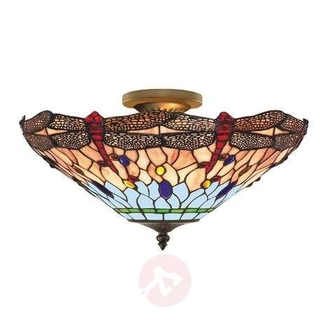 DRAGONFLY - Applique in stile Tiffany