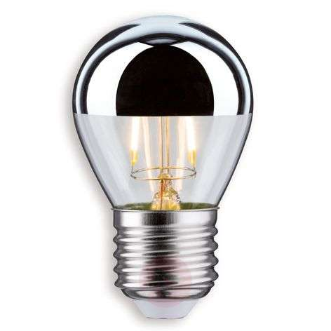 E27 2,5W 827 lampadina LED brillantata