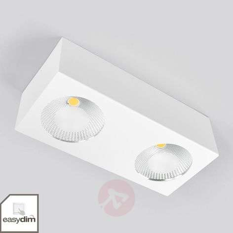 Faretto da soffitto LED Sonja a 2 luci dimmerabile