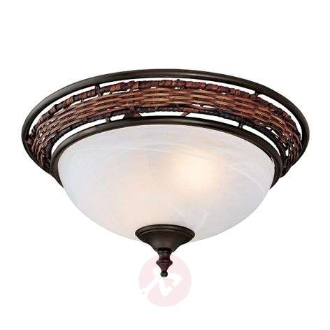 Hunter Wicker Bowl - plafoniera per ventilatore