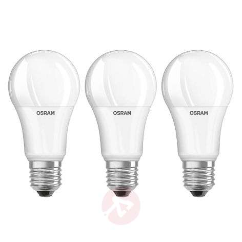 Lampadina LED E27 14W, bianco neutro, set da 3