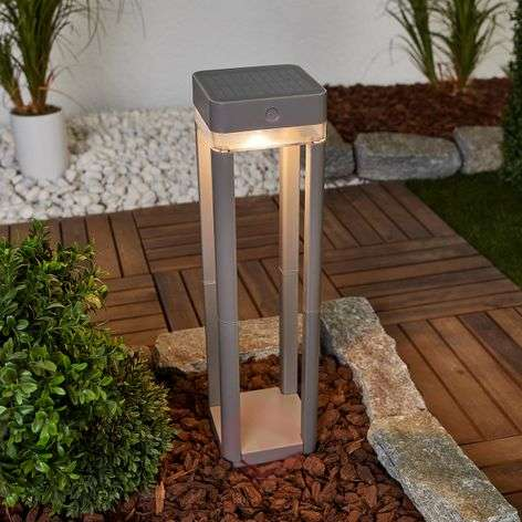 Lampioncino solare a LED Table Cube c.interruttore