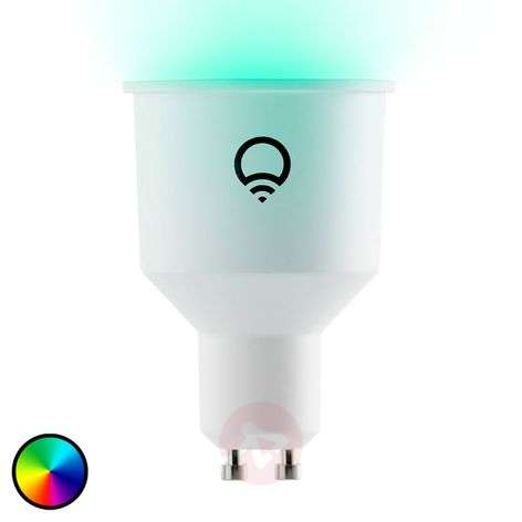 LIFX Color GU10 6W, 2.500-9.000 K, RGB, WLAN