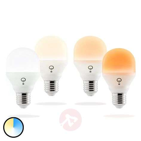 LIFX Mini Day&Dusk lampadina LED, E27 9W set da 4