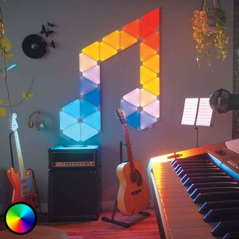 Nanoleaf Light Panels Rhythm Edition, 15 pannelli
