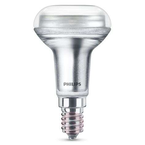 Philips E14 4,3W 827 LED riflettore R50, dimming