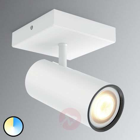 Philips Hue Buratto spot LED bianco 1 luce dimmer