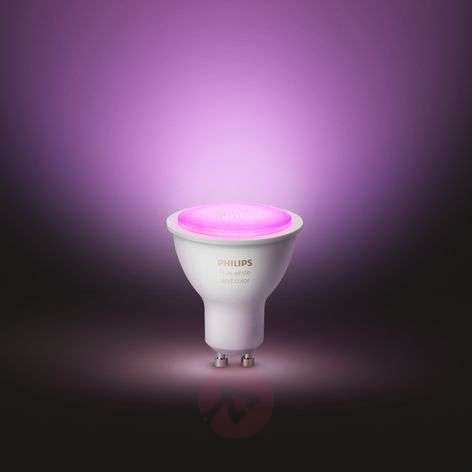 Philips Hue White & Color Ambiance 5,7W GU10, 2