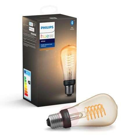 Philips Hue White E27 LED a filamenti rustica ST64