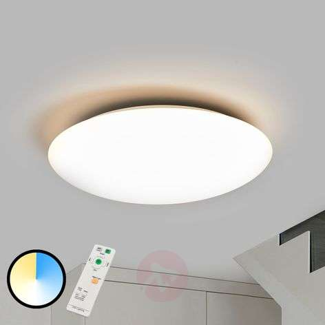 Lampada Led Con Telecomando.Acquista Plafoniera Dimmerabile Led Teo Con Telecomando Lampade It