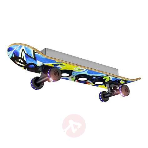 Plafoniera LED Easy Cruiser Graffiti a skateboard