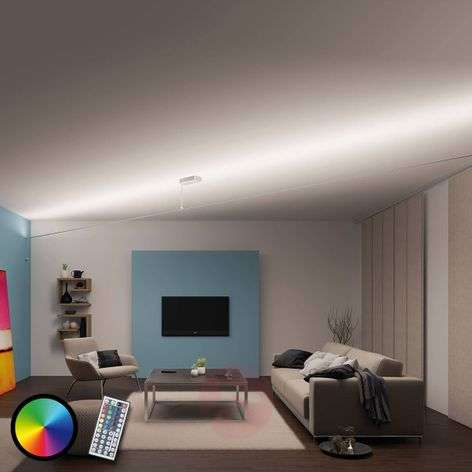 Set di funi Flying Stripe, LED RGB e telecomando