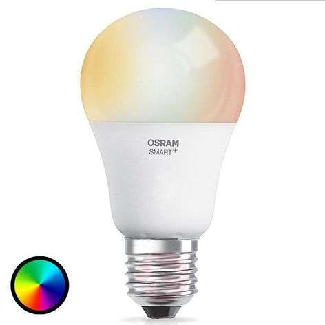 SMART+ LED E27 10W, RGBW, 800 lumen, Apple HomeKit