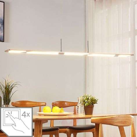 Sospensione LED Stephanie, dimmerabile, 120 cm