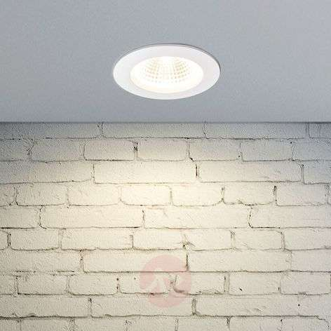 Tadeus - downlight LED con anello bianco, IP65