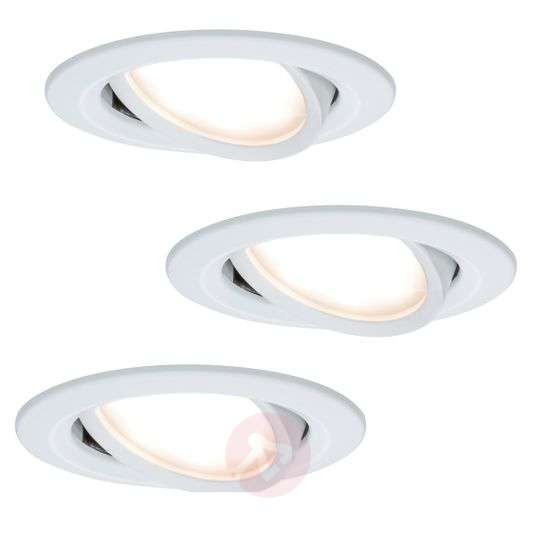 Acquista Downlight LED Coin Slim IP23 bianco, set da 3 yuyE6kQj