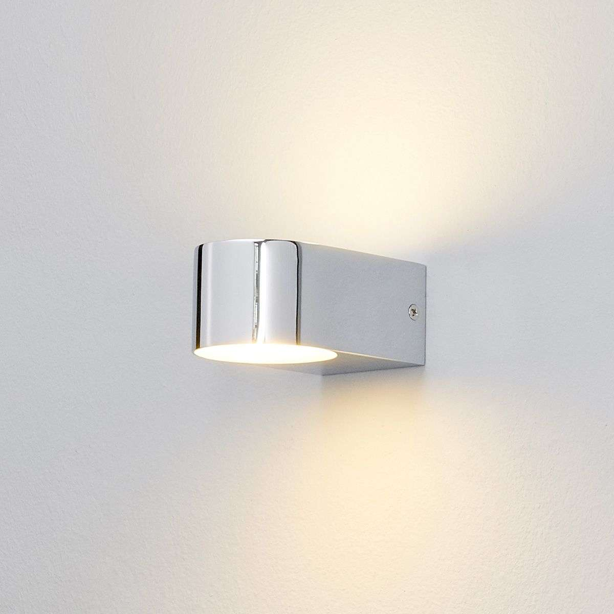 Acquista Applique per bagno a LED Marielle cromo | Lampade.it