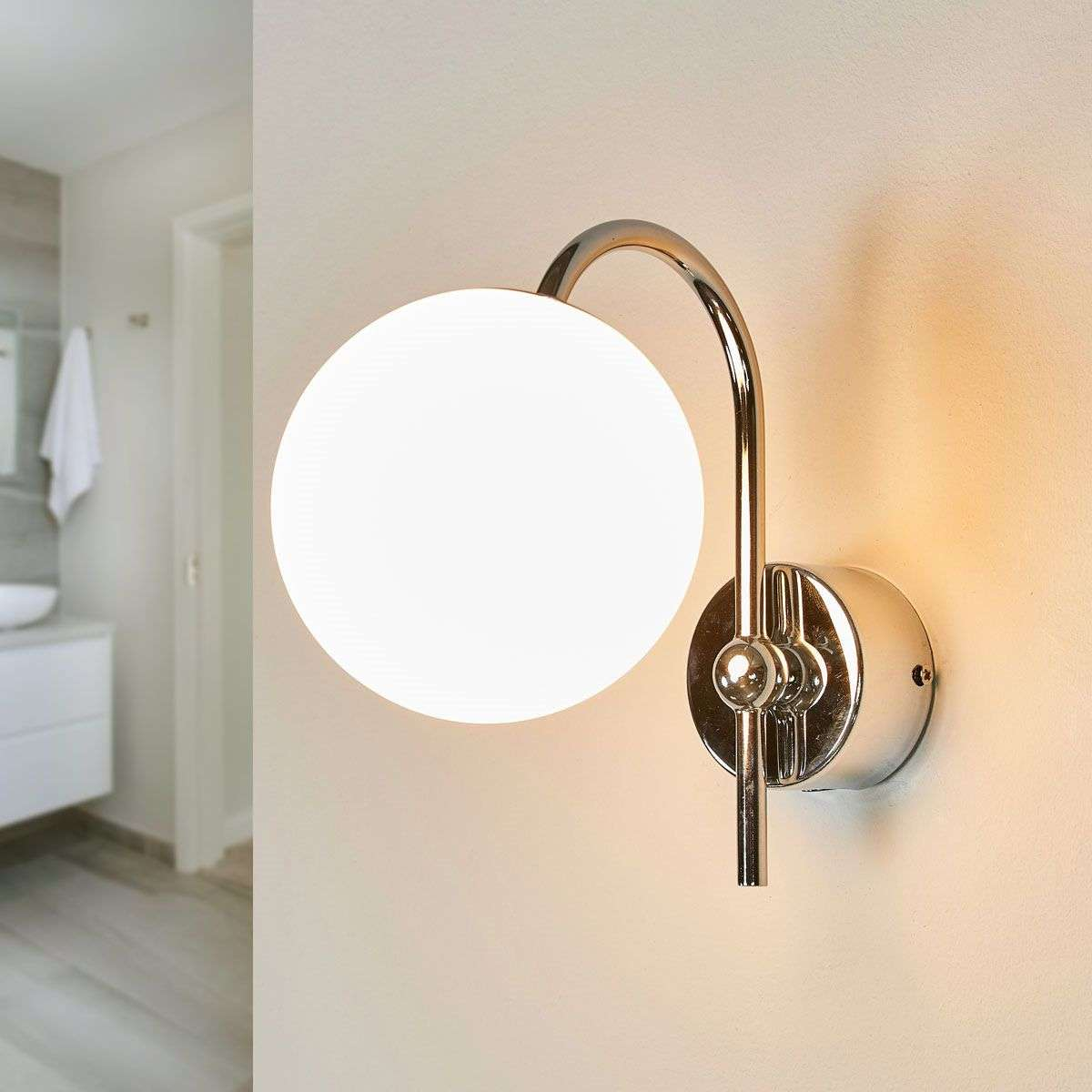 Acquista Applique per bagno Crystal IP44 | Lampade.it