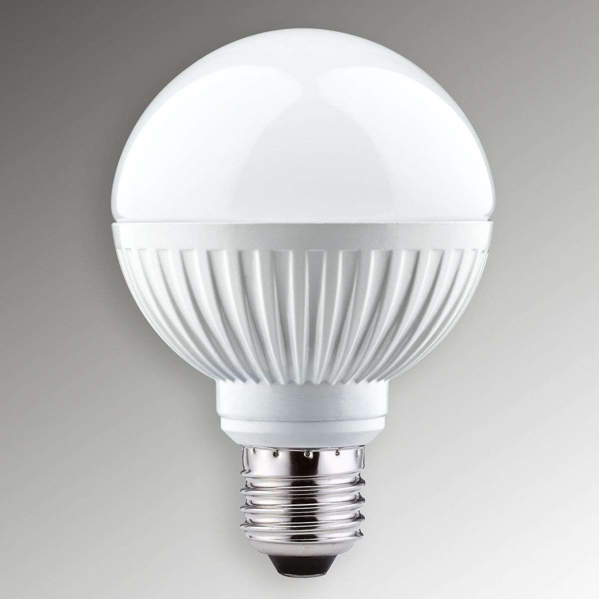 Acquista e27 9 5w 827 globo led 80 opale dimmerabile for Lampade led attacco e27