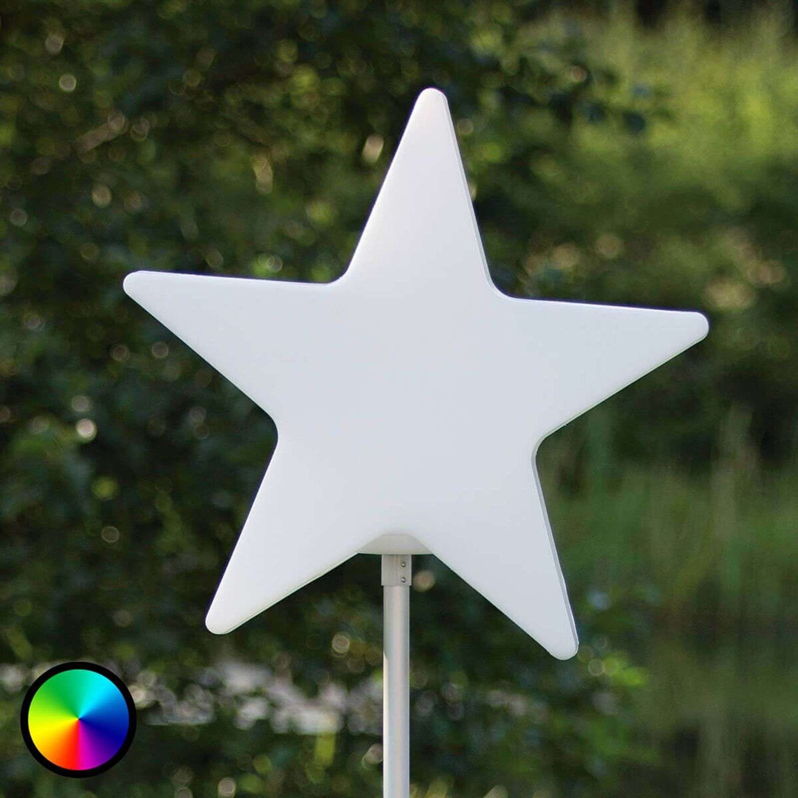 Stella luminosa Star su barra lunga 100�cm
