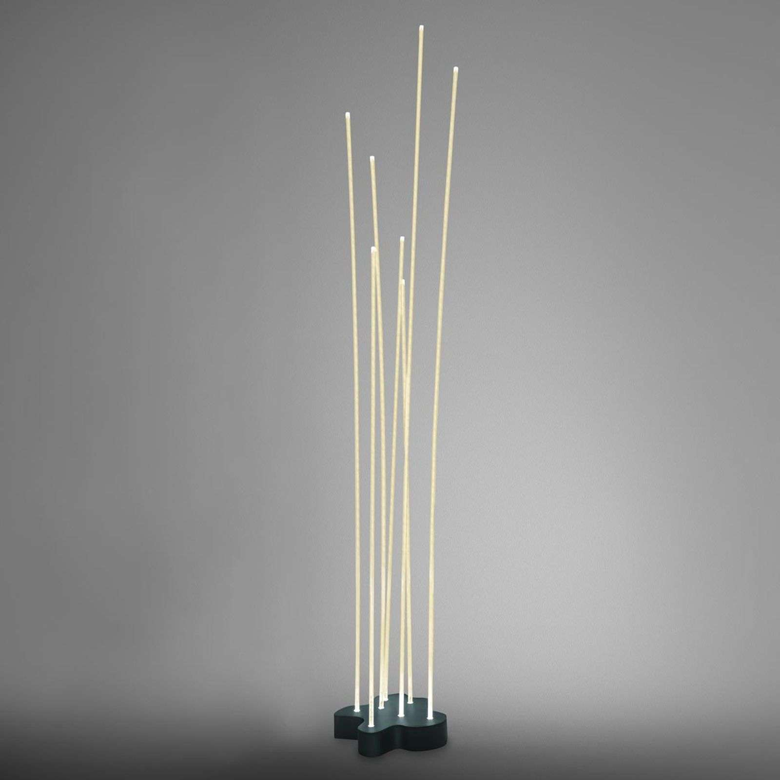 Piantana di design Reeds con LED