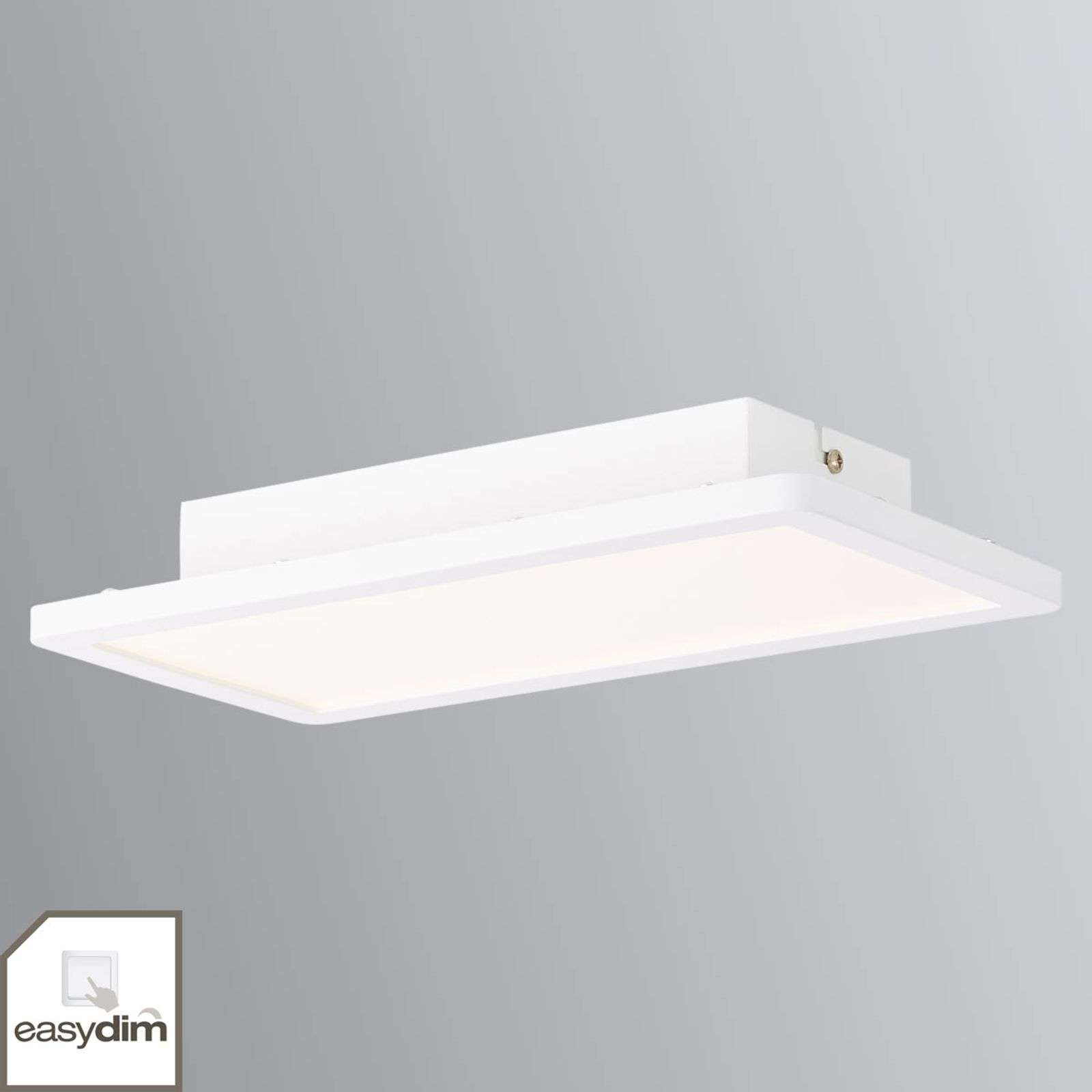Lampada LED da soffitto Scope bianca dimmerabile