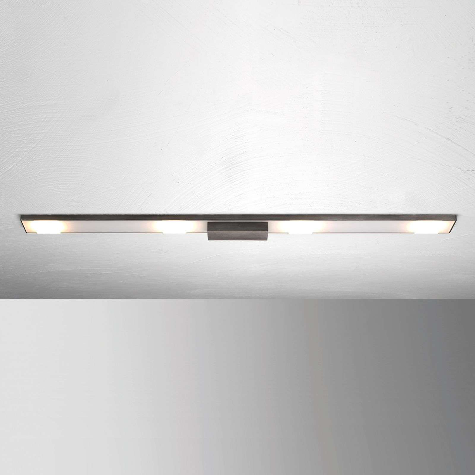 Plafoniera LED Slight 4 punti luce, antracite