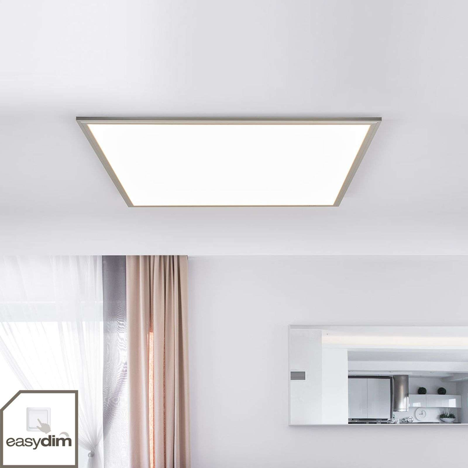 Pannello LED dimmerabile Moira di forma quadrata
