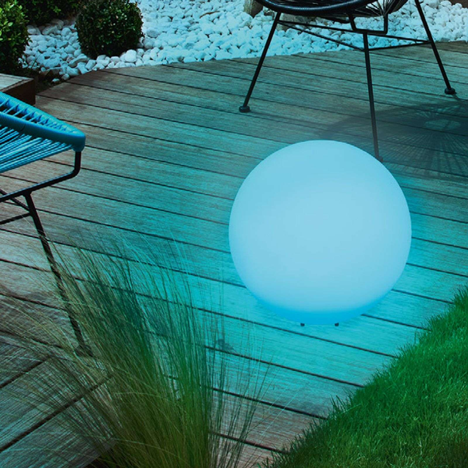 Sfera solare decorativa Mega Ball 40 cm