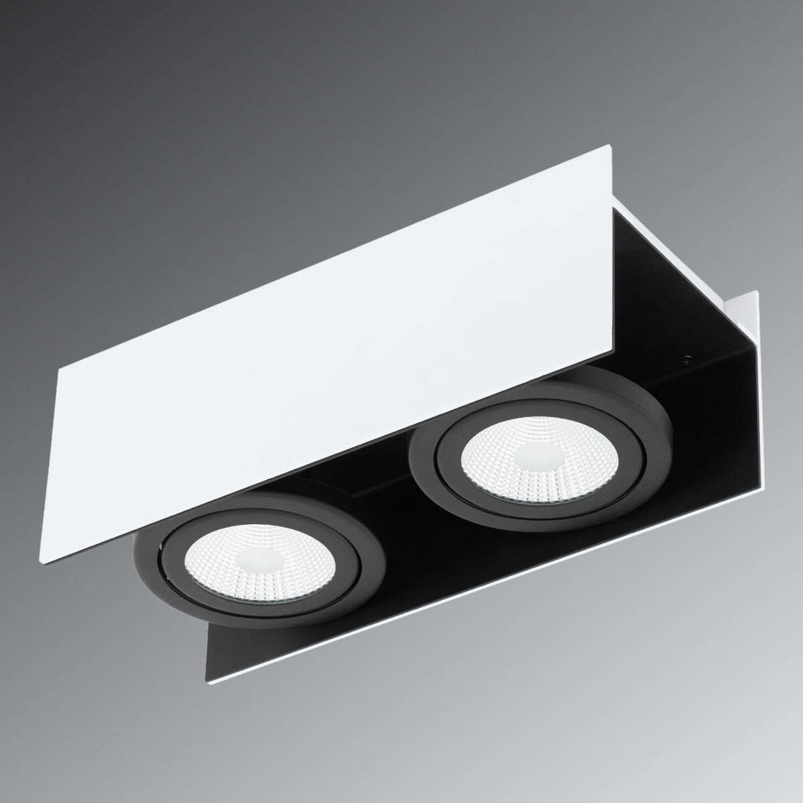 Faretto LED da soffitto Vidago a 2 lampadine