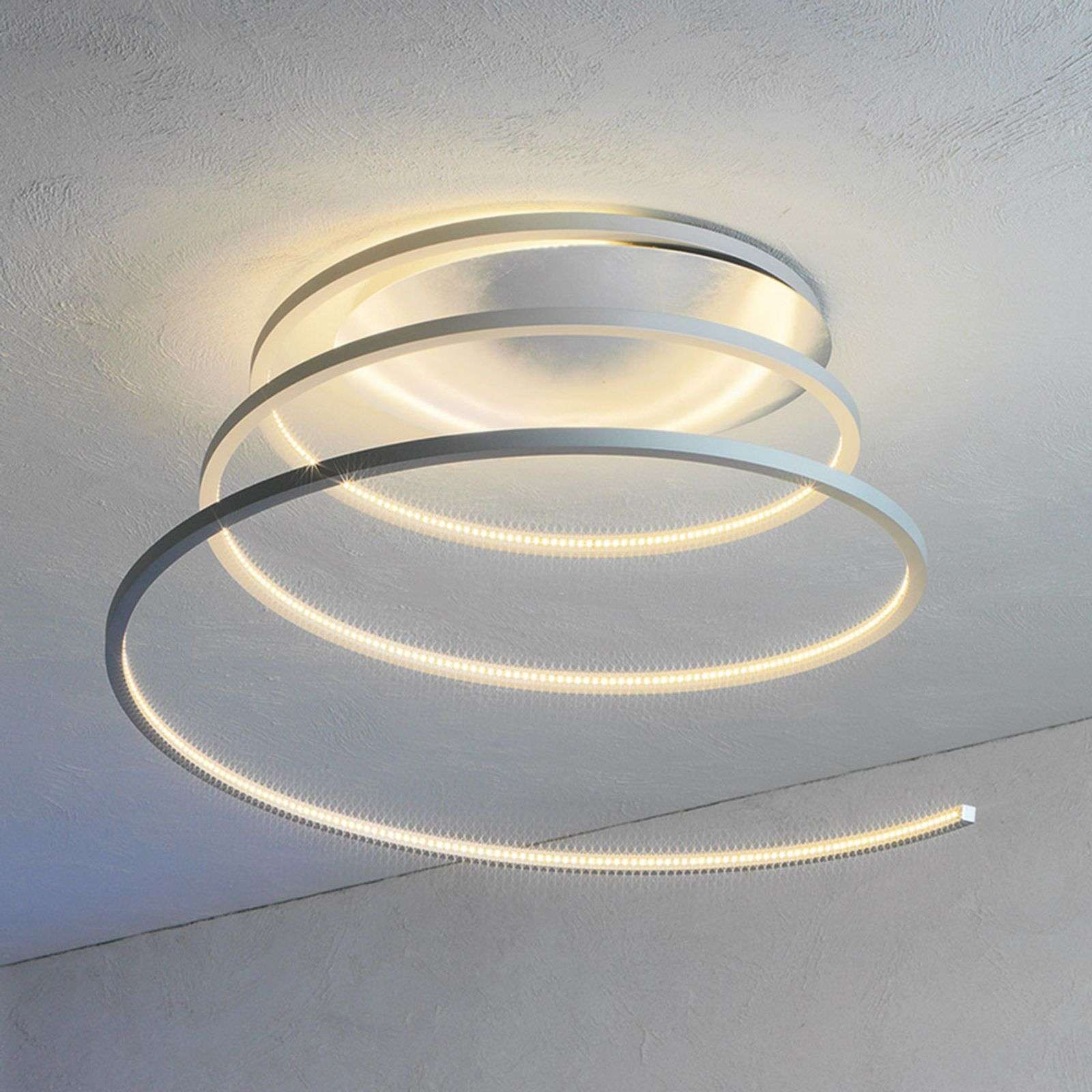 Suggestiva plafoniera LED Helix 35 cm