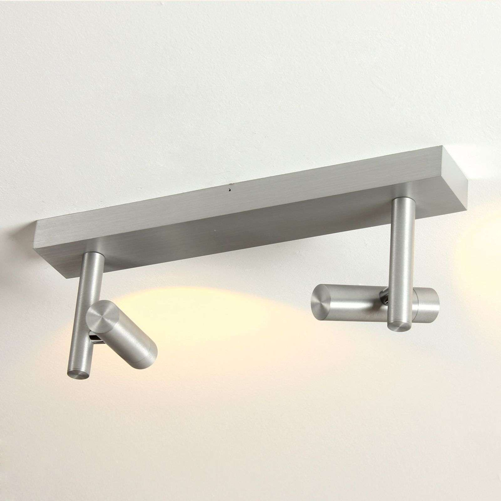 Plafoniera LED dimmerabile Stage, 2 punti luce