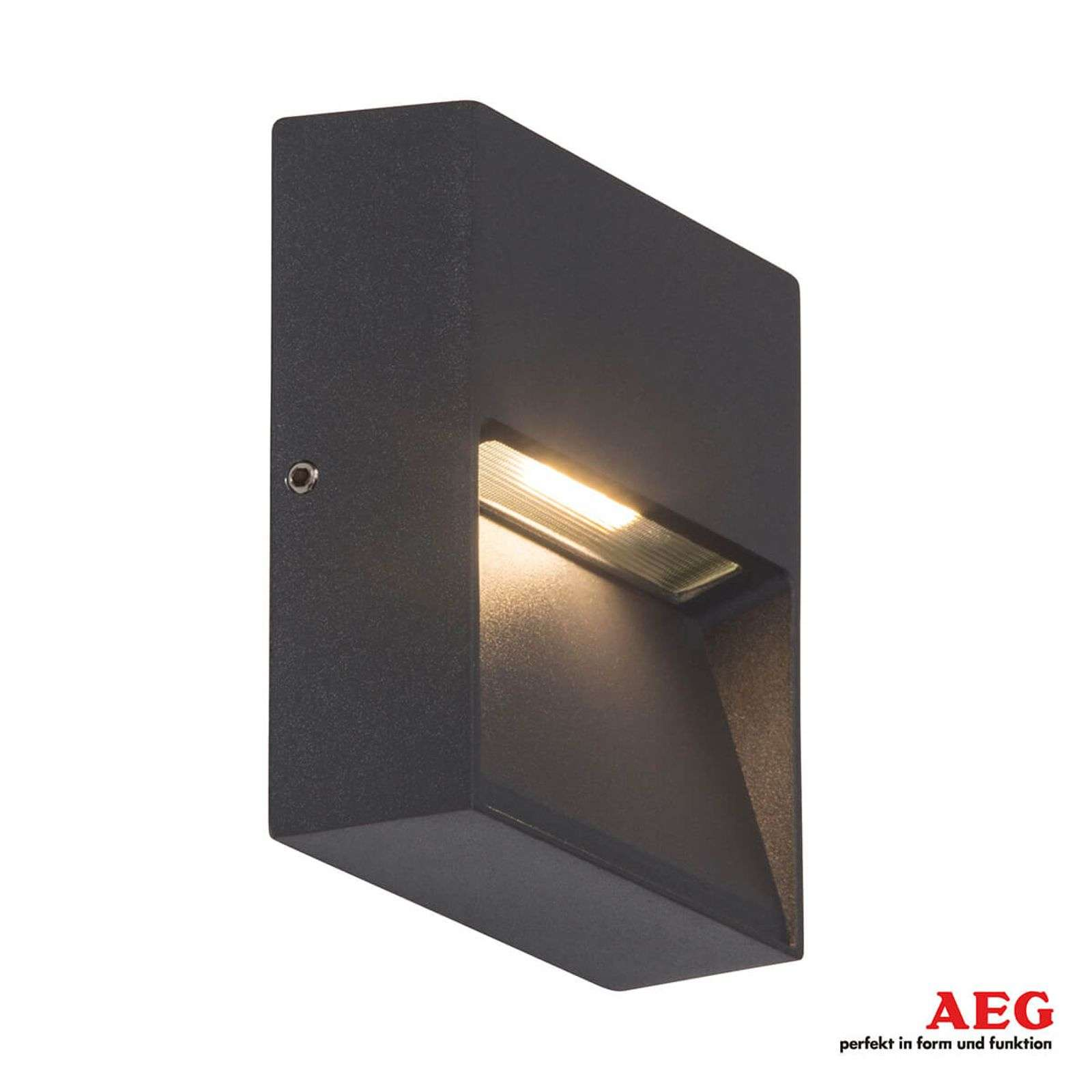 Front - applique da esterni LED angolare
