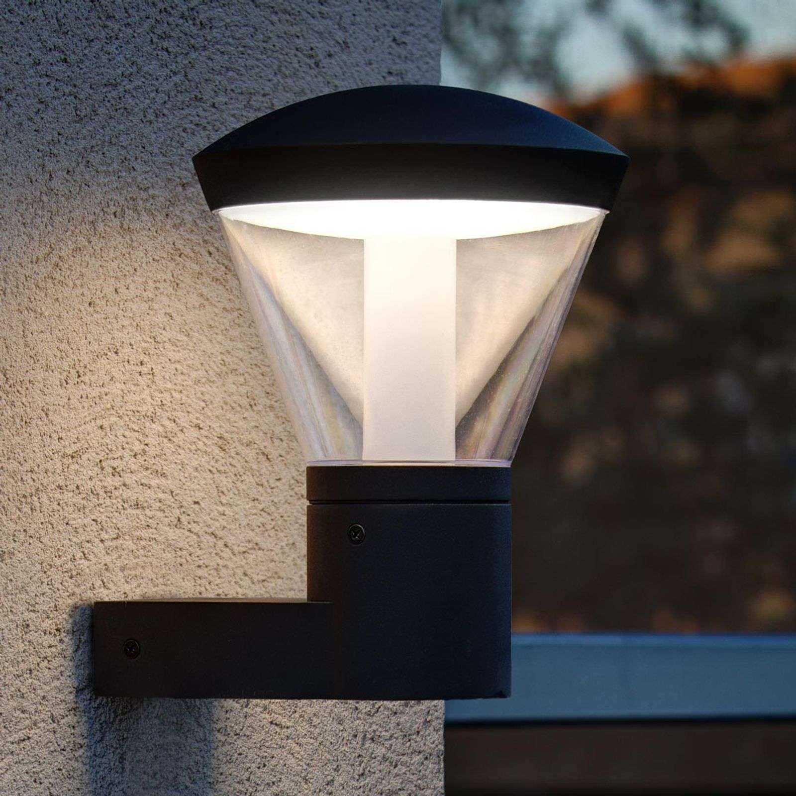 Suggestiva lampada LED da esterni Shelby