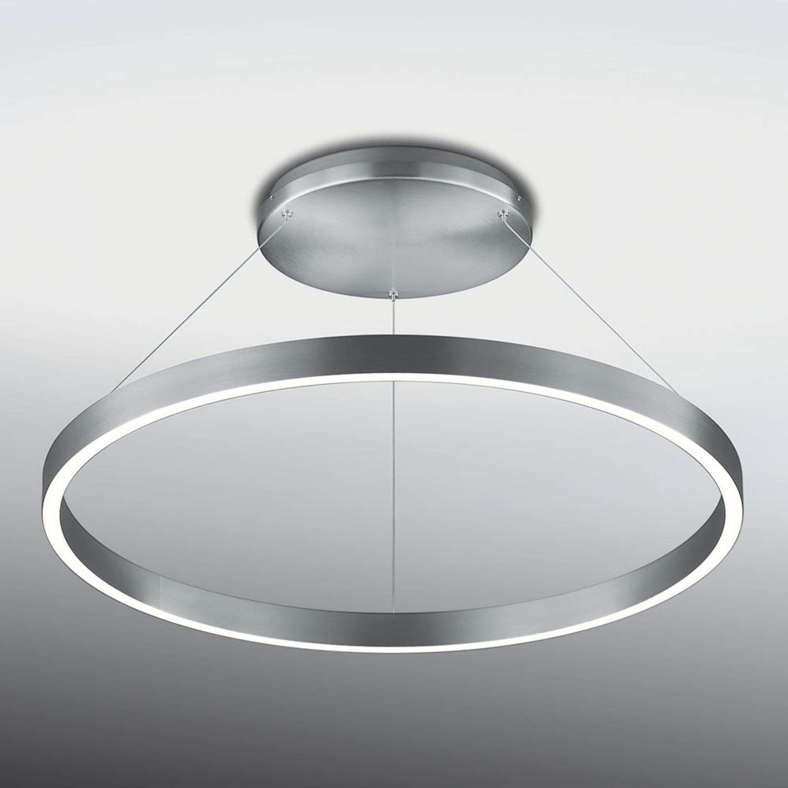 Plafoniera LED Circle ad anello, dimmerabile