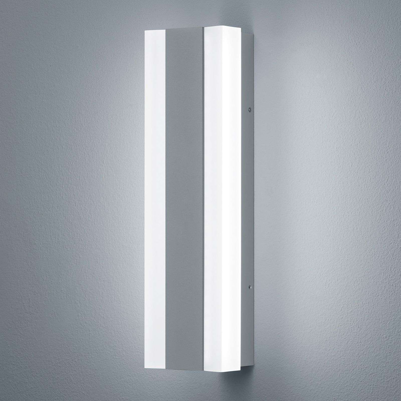 Applique da esterni LED Road grigio argentato