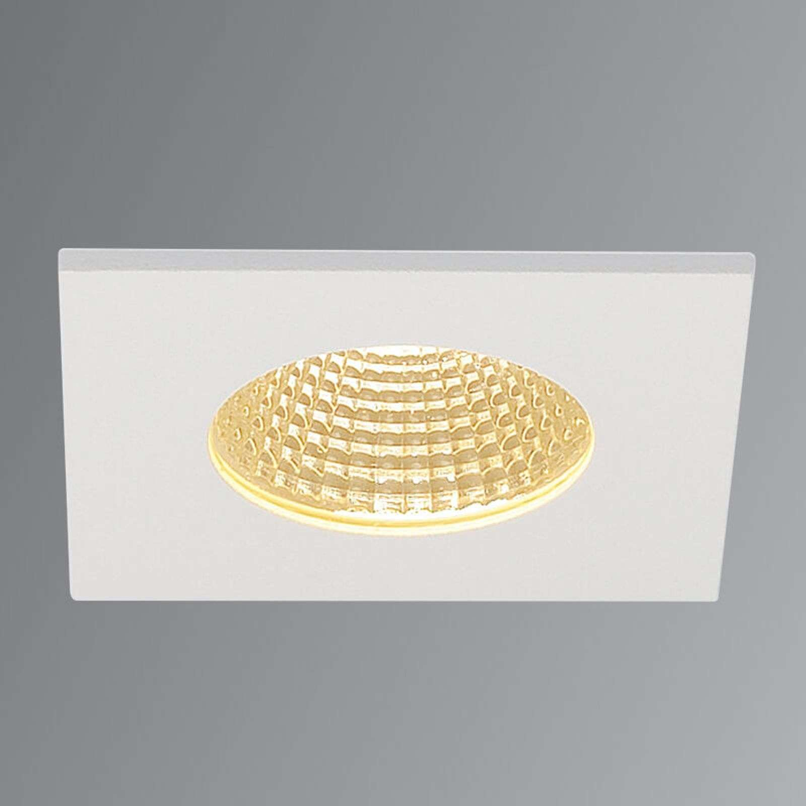 Downlight LED Patta-I bianco satinato