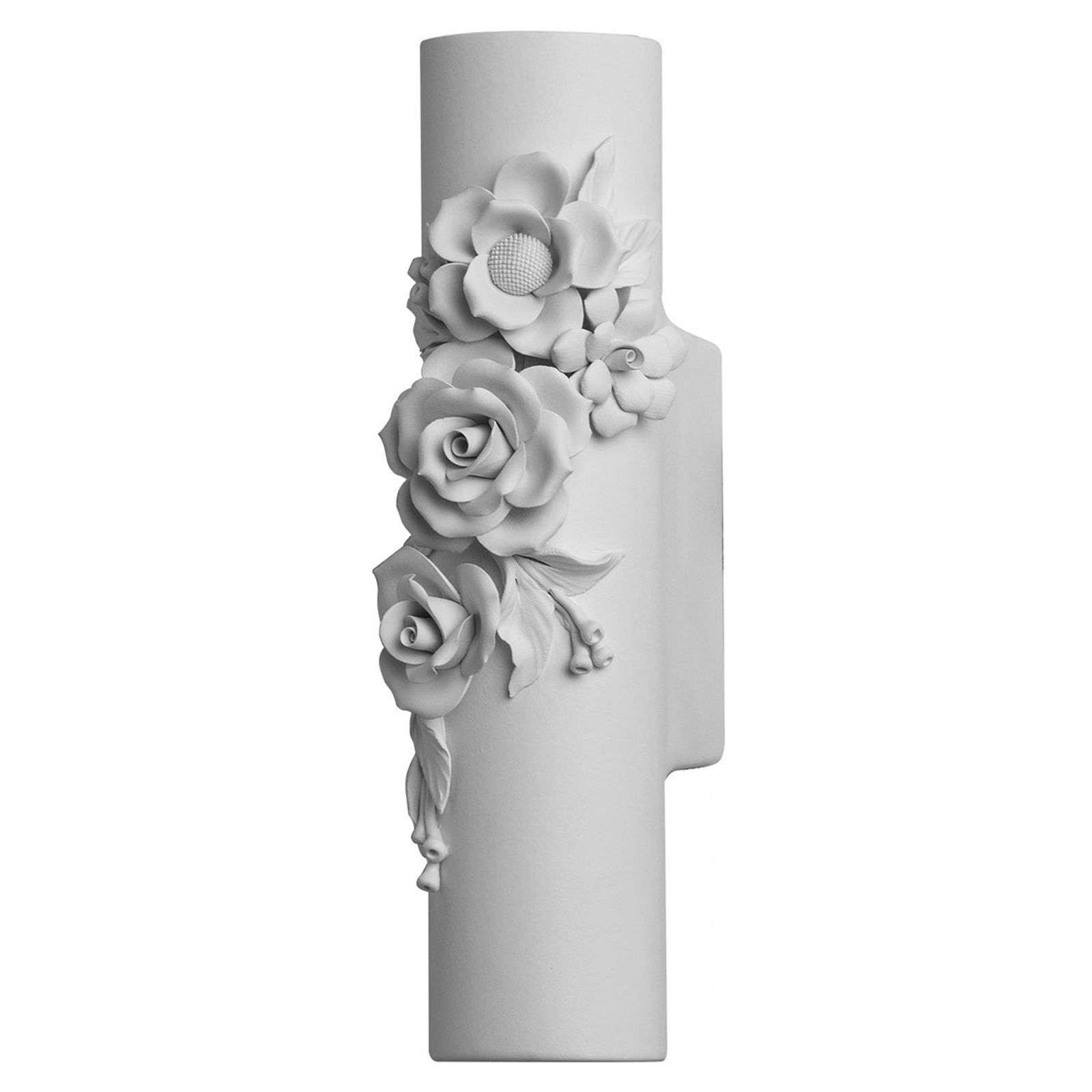 Applique a LED di ceramica Capodimonte