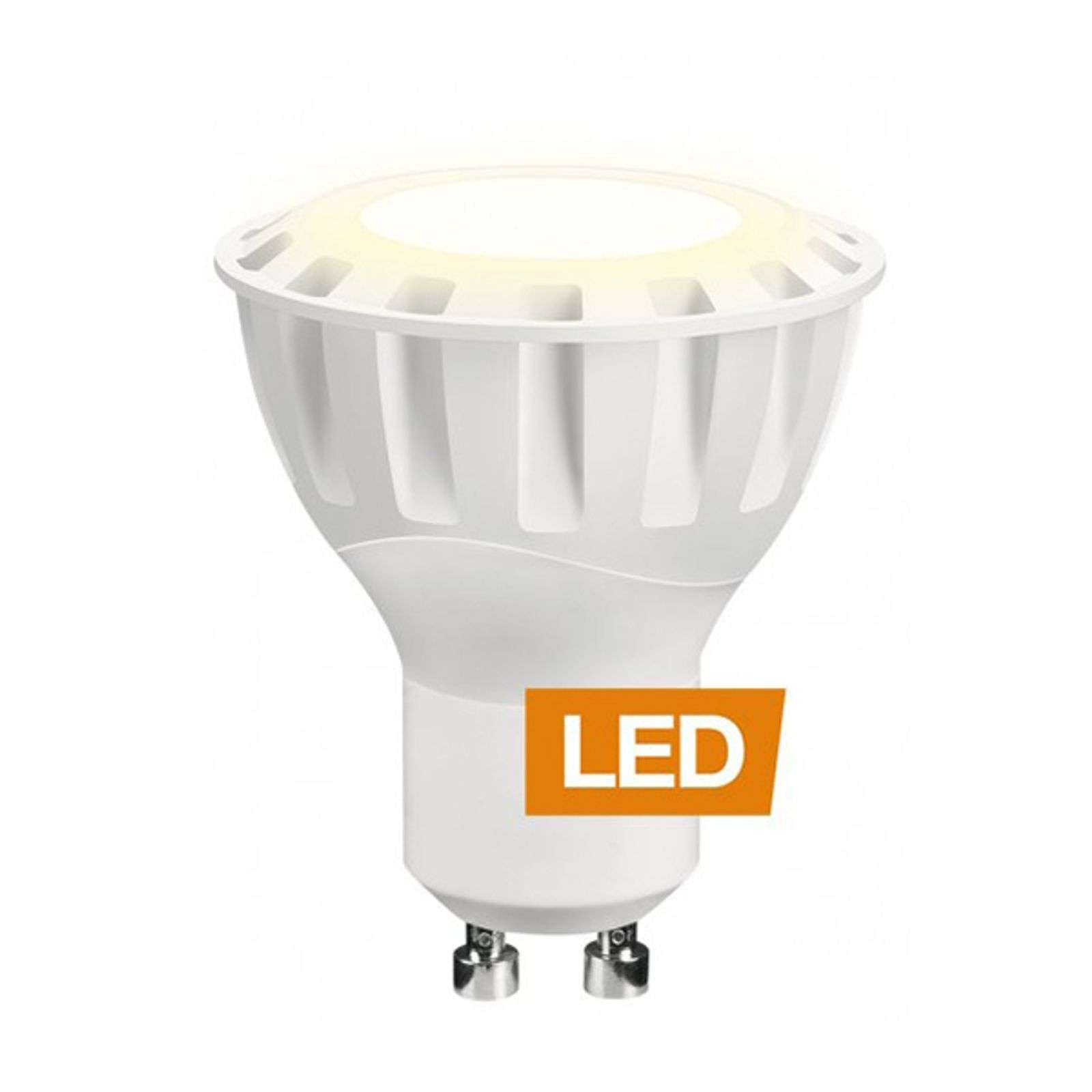 Riflettore LED 927 6W MR16 GU10 60° non dimmer.