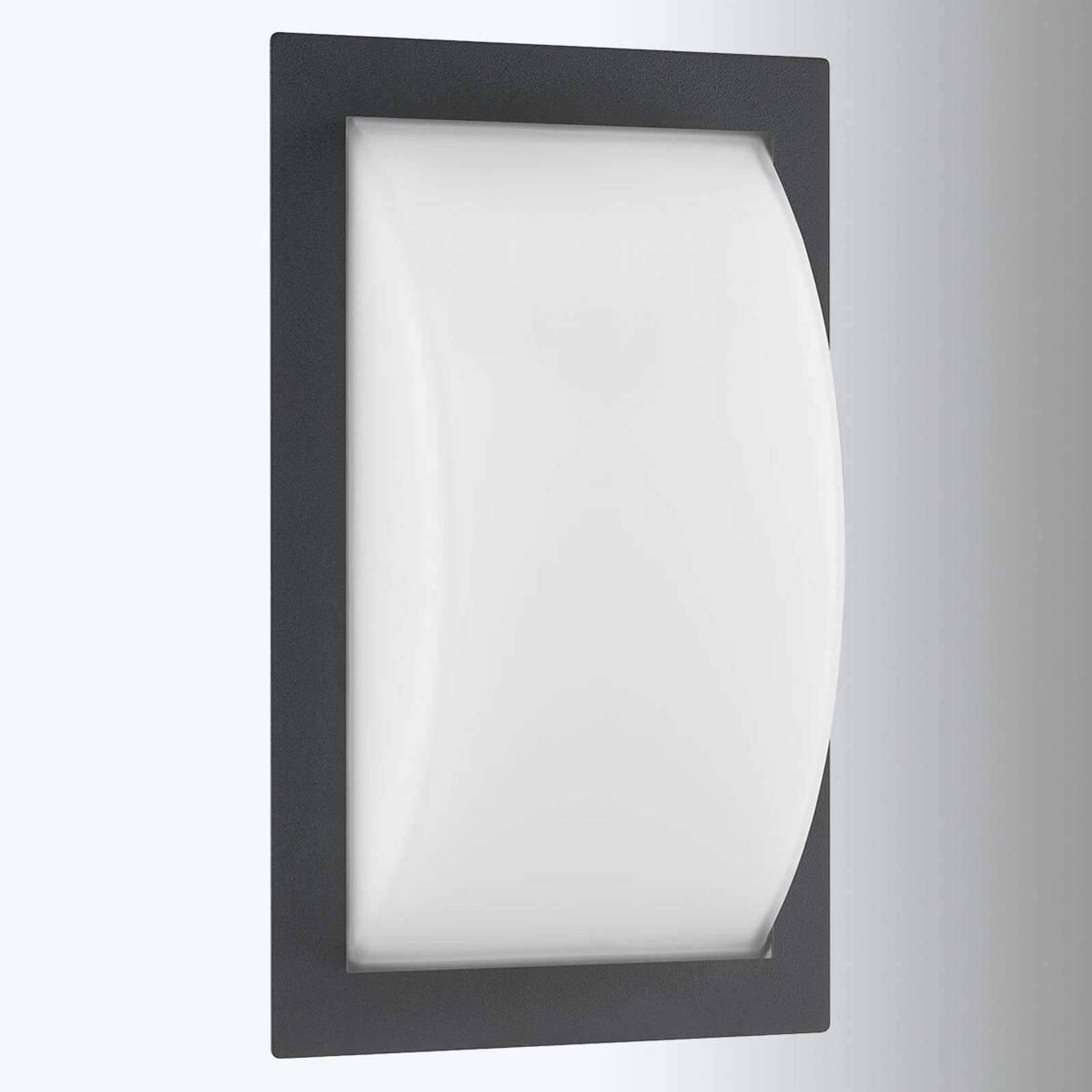 Elegante applique da esterni LED Ivett grafite
