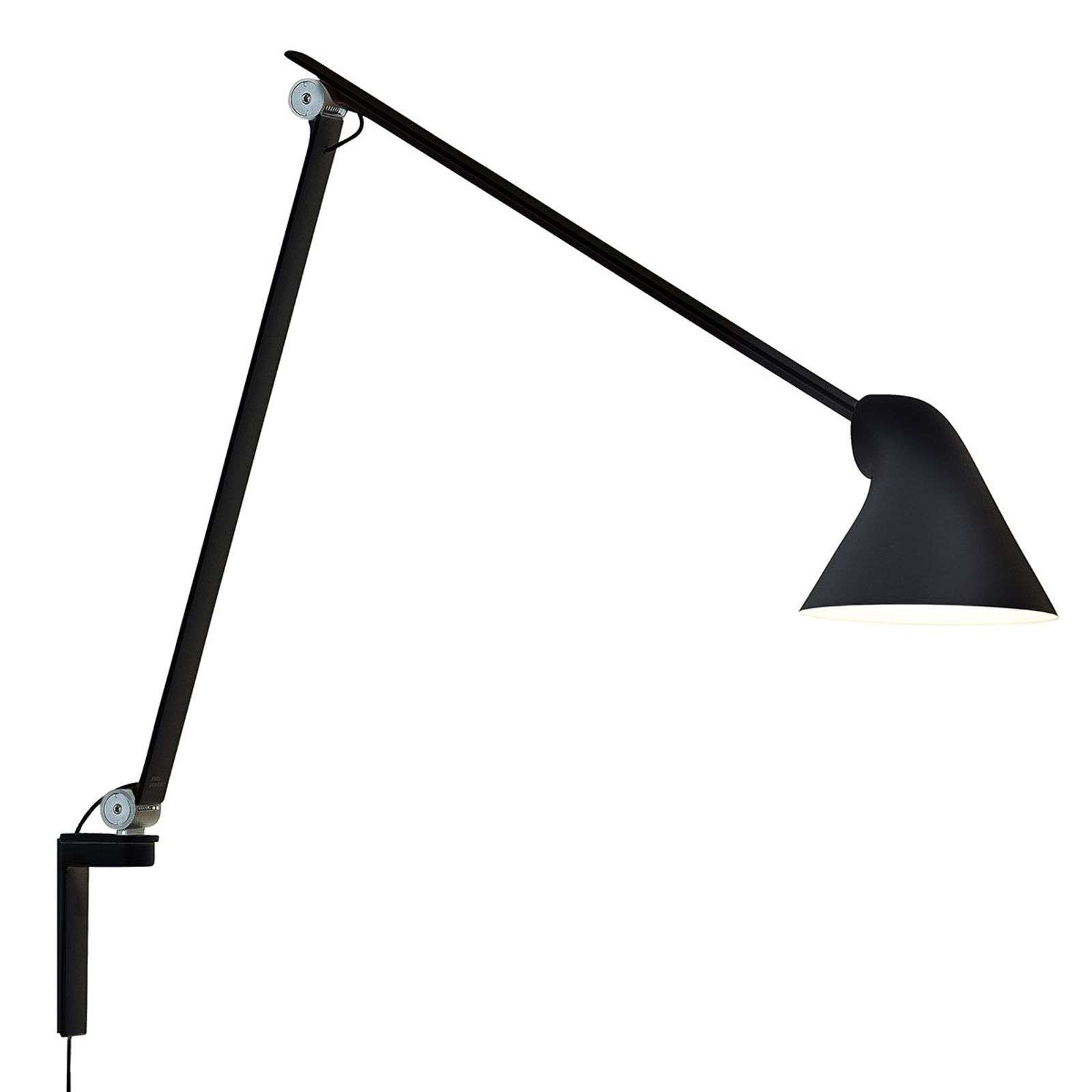 Louis Poulsen NJP - applique a LED nera