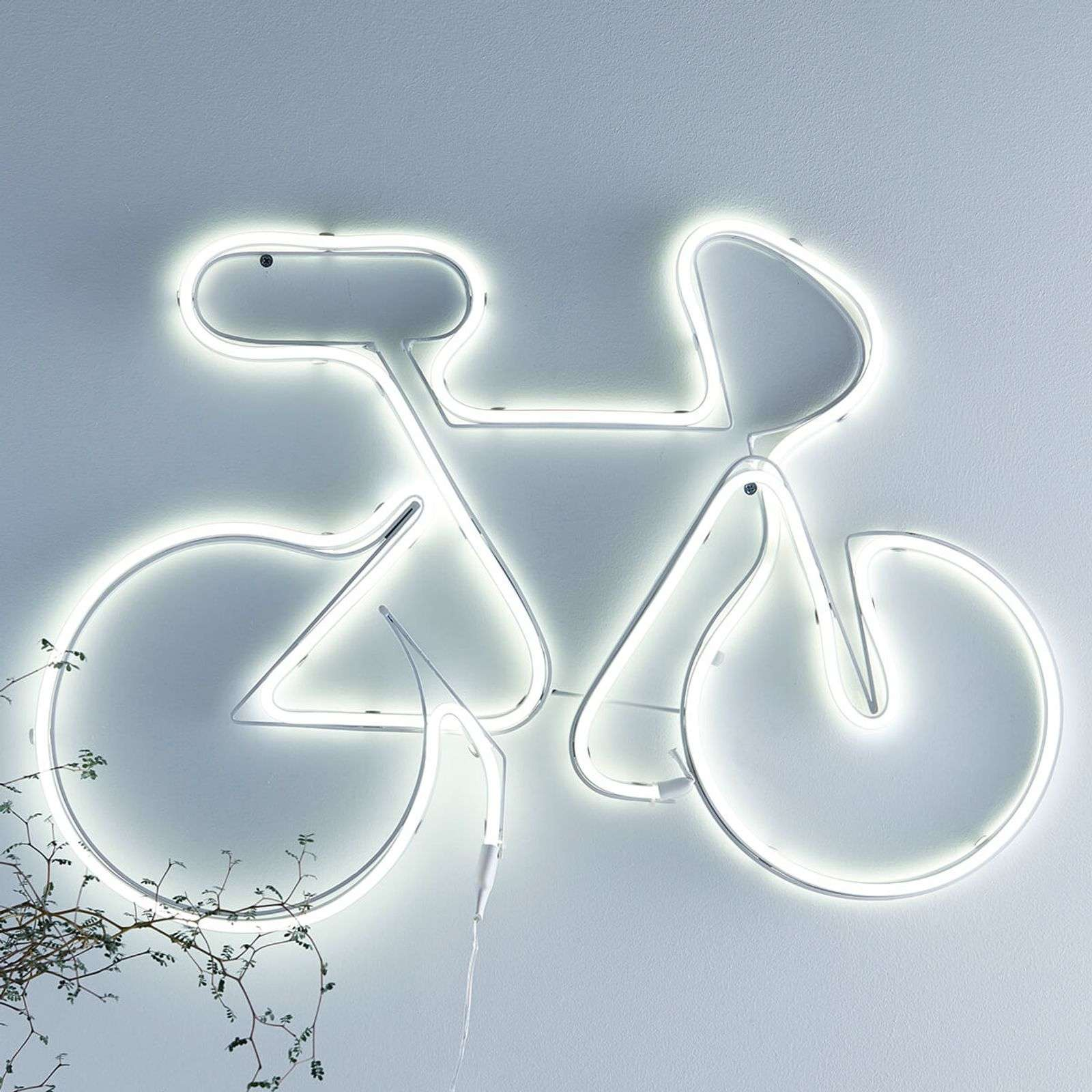 Lampada decorativa a LED New York a forma di bici