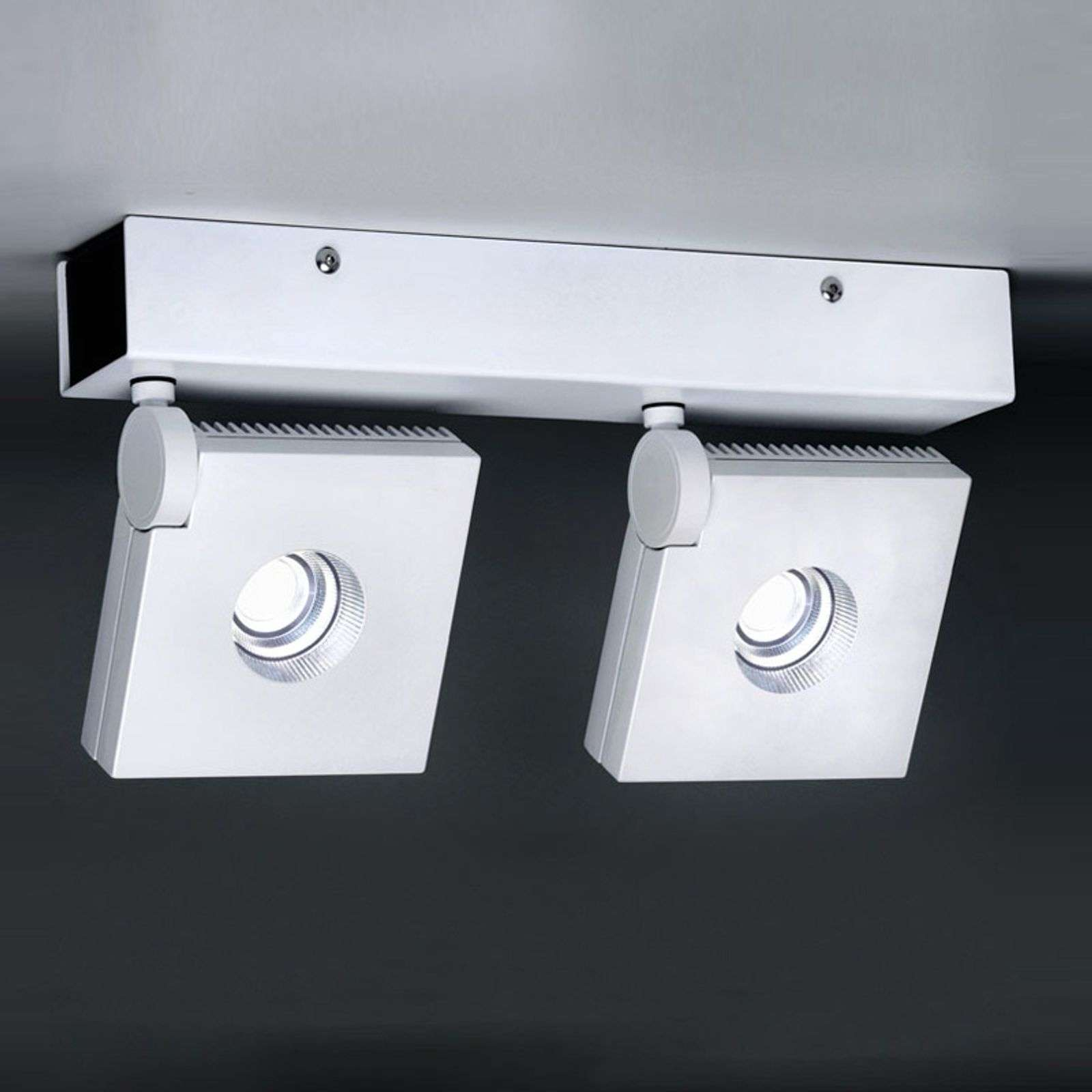 Applique a LED orientabile Bridge a 2 luci